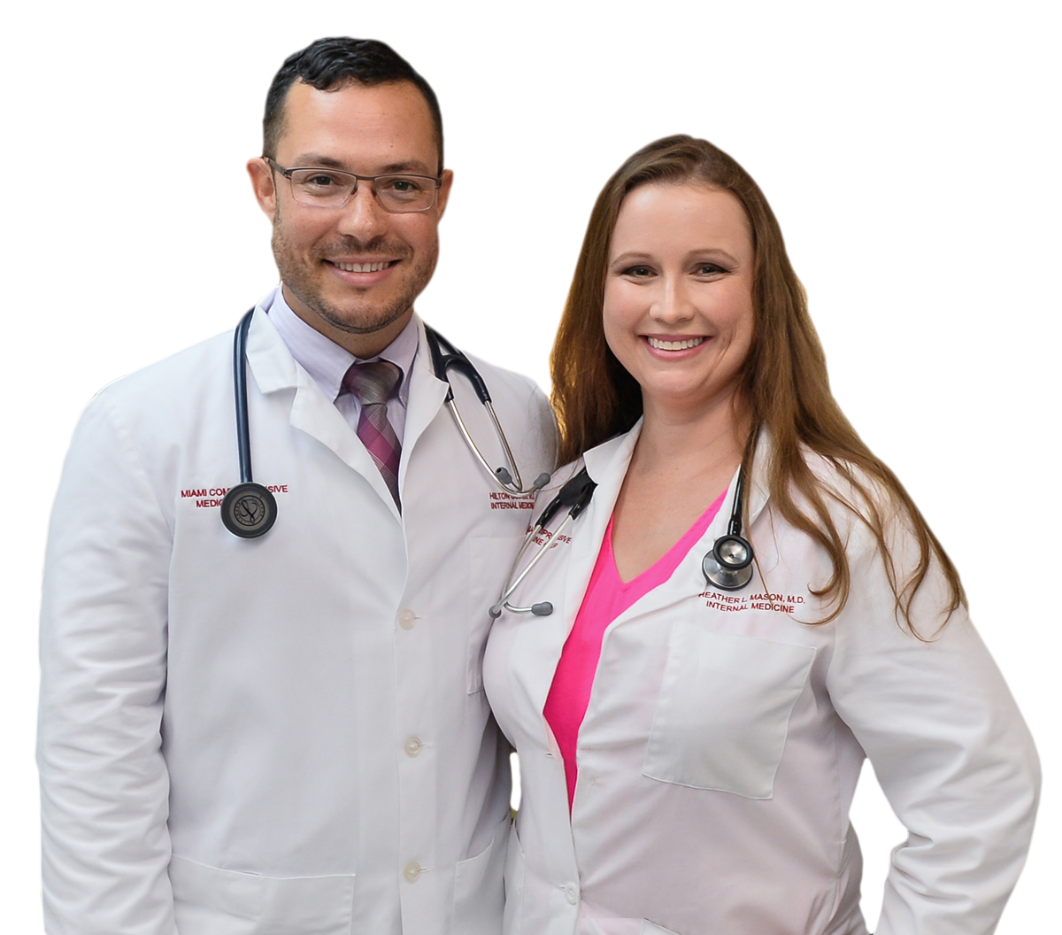 About us - Dr  Hilton Gomes and Dr  Heather Mason